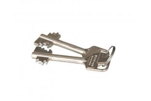 Dubbelbaard sleutel, korte steellengte (extra)
