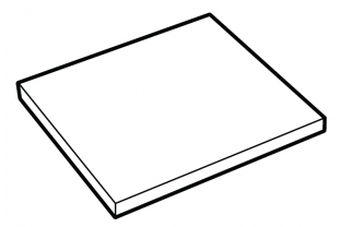 Lips Brandkasten legbord size 110-300  | KluisShop