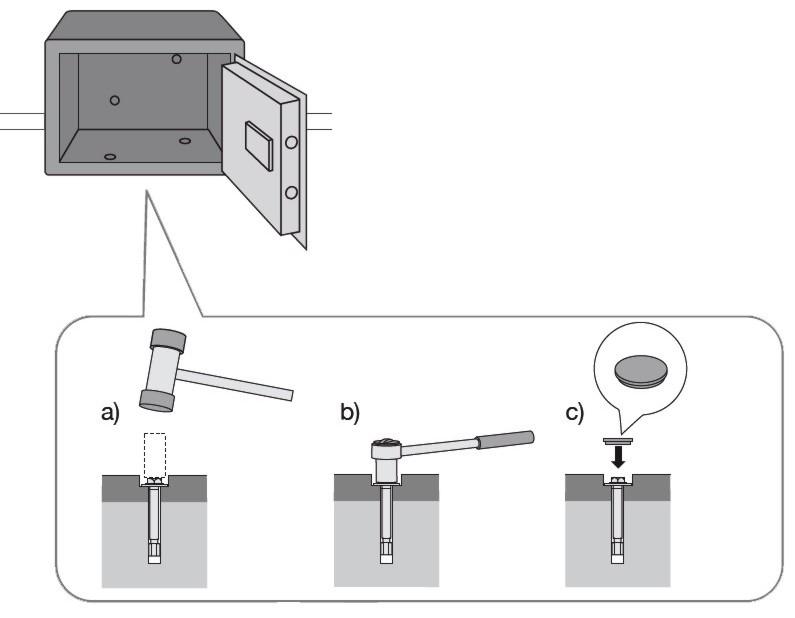 kluis verankeren mechanisch anker