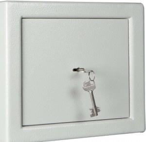 Dubbelbaard sleutelslot op kluis